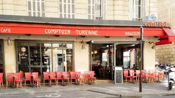 Comptoir Turenne Devanture / Façade