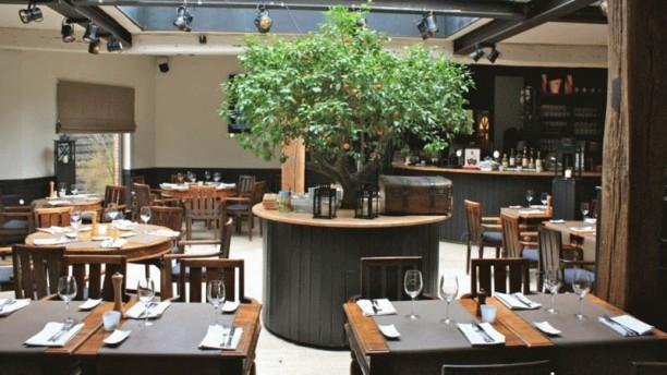 Eet-Kafee Kontich Vue de la salle