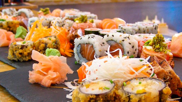Stuppendo Sushi Bar Sugestão sushi