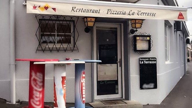 Terrasse  La Terrasse restoran - Bussigny
