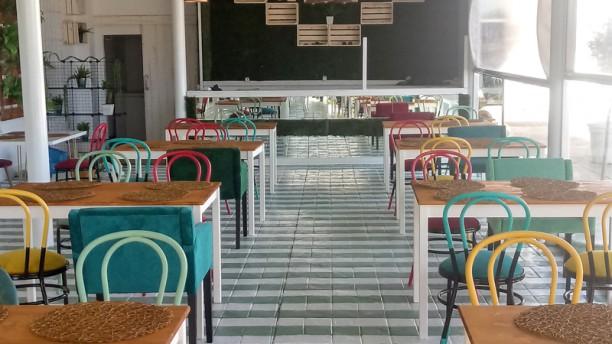 Complejo Alcántara Sala del restaurante