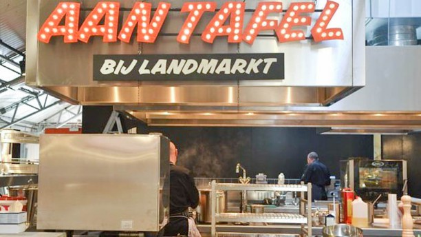 Aan Tafel - bij Landmarkt Het restaurant