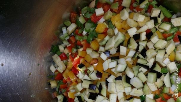 Bistro del Mare petits légumes