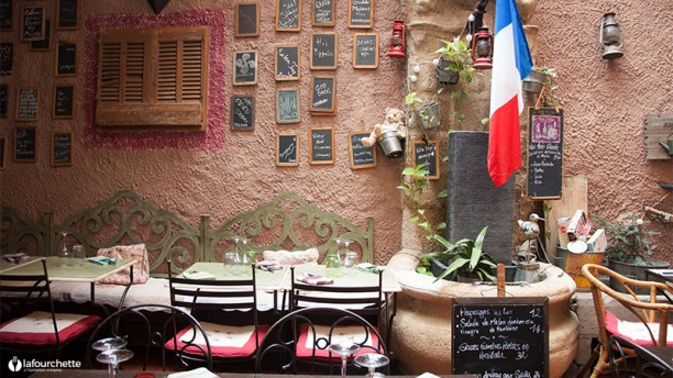 Le patio restaurant 16 rue victor leydet 13080 aix en for Ou bien manger a aix en provence