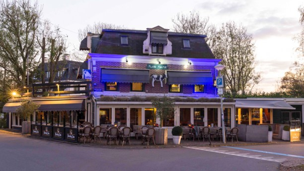 Café-restaurant Klein Kalfje Pand Buiten