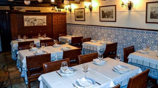 Restaurante Avó Cana Vista da sala