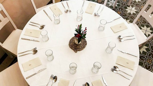 Casino de Labradores Detalle de la mesa
