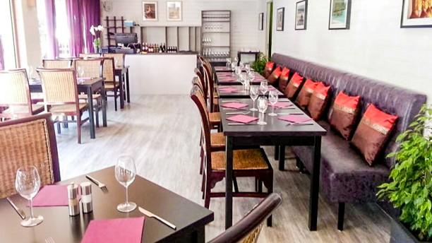 La Maison Thai salle du restaurant