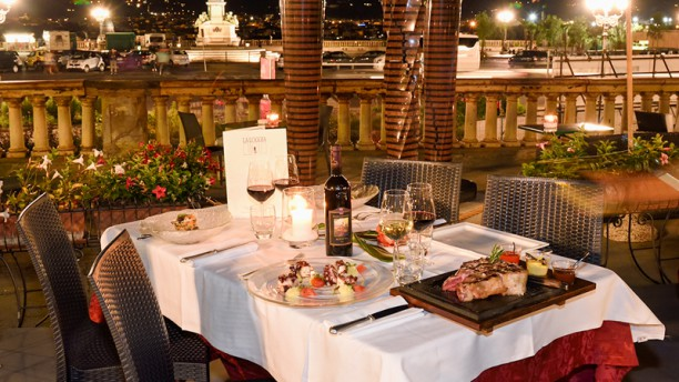 La Loggia In Florence Restaurant Reviews Menu And Prices