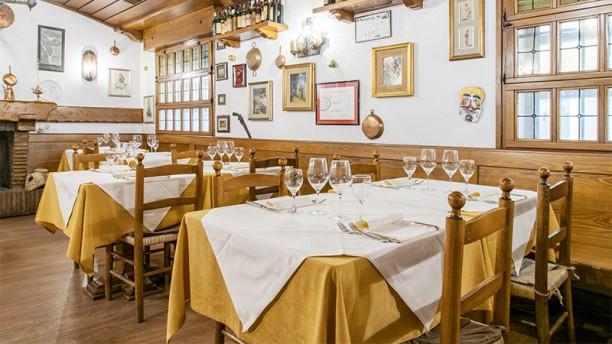Il Tartufo Sala del ristorante