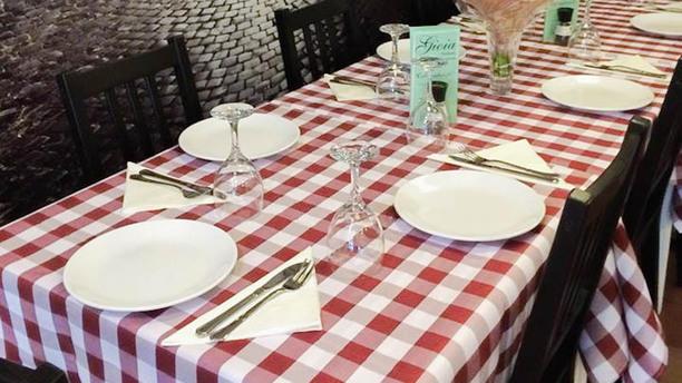 Gioia Italiana Detail van de tafel