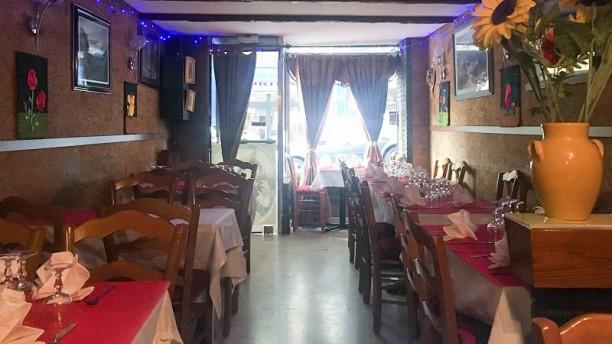 Krishna Salon du restaurant