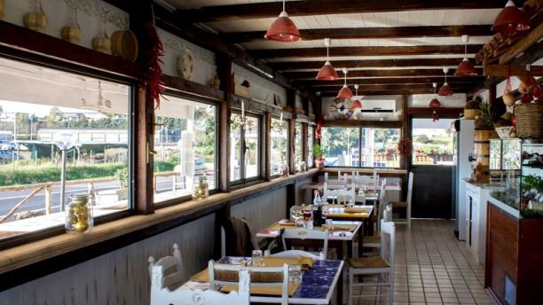 Osteria Fraschetta Le Monachelle Vista sala