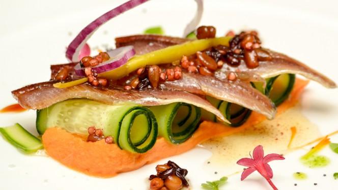 Entrente del menú degustación del Restaurante Granero - Granero,
