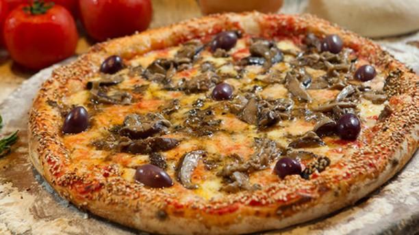Forneria Di Napoli Pizza Shitake e Shimeji