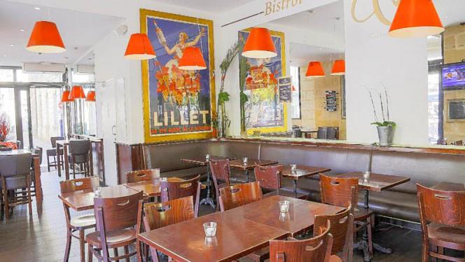 Vue de l'intérieur - Cajou Caffé, Bordeaux