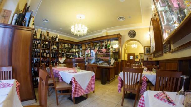 El Bistrot De Milan La sala dei vini
