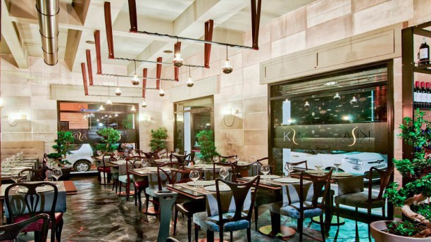 Kisa Cuisine & Lounge Vista sala
