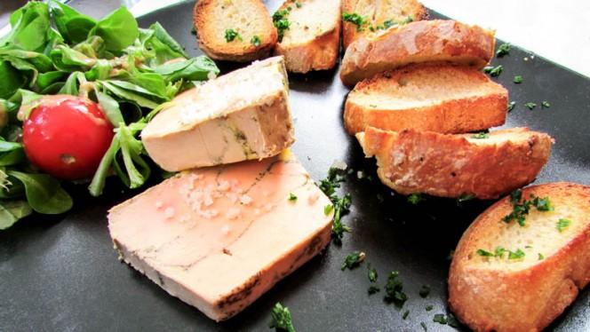 Foie gras mi-cuit fait maison - Le Plana, Bordeaux