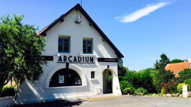 L'Arcadium Façade du restaurant