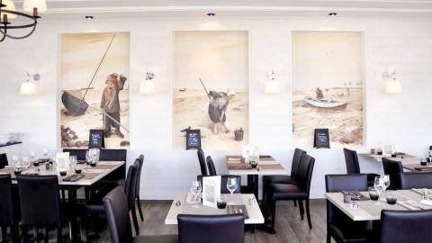 restaurant - Les Bains - Hôtel du Port - Boismont
