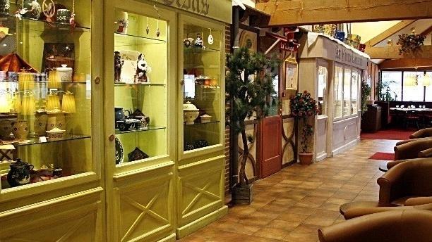Les Relais d'Alsace - Taverne Karlsbrau Zoom sur l´espace lounge