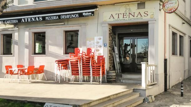 Pizzería Atenas Terraza