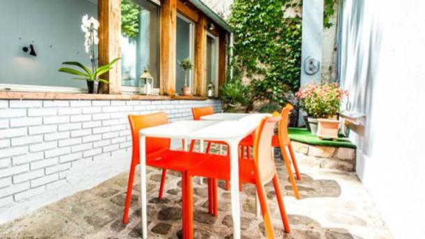 Chez Jean-Claude Vue terrasse