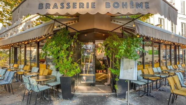 Brasserie Boheme exterieur