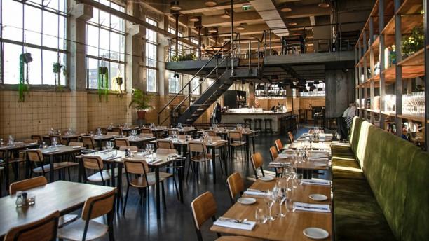 De Krachtcentrale Het restaurant