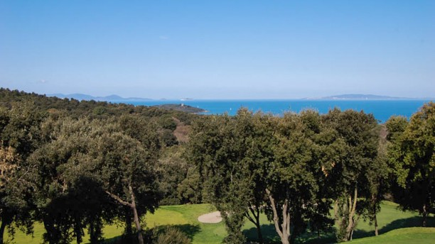Ristorante Golf Club Punta Ala Vista al mare
