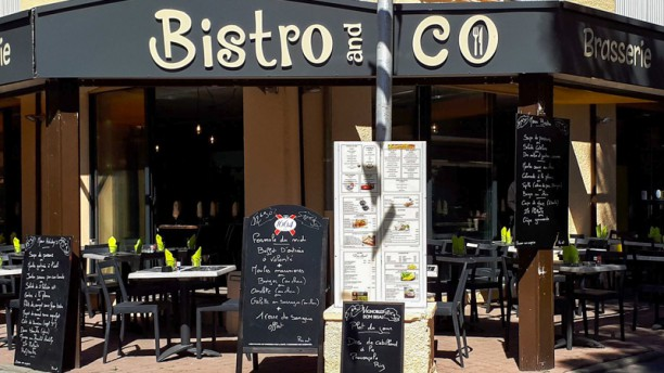 Bistro and Co Terrasse