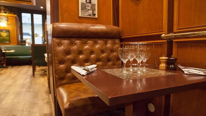 détail table dressée - L'Embarcadère, Bordeaux