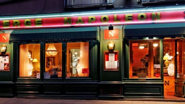 Auberge Napoléon Façade restaurant