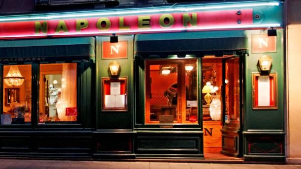 Auberge Napoléon restaurant Façade restaurant