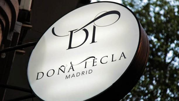Doña Tecla Detalle entrada