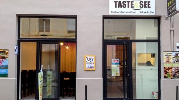 Taste and See Devanture