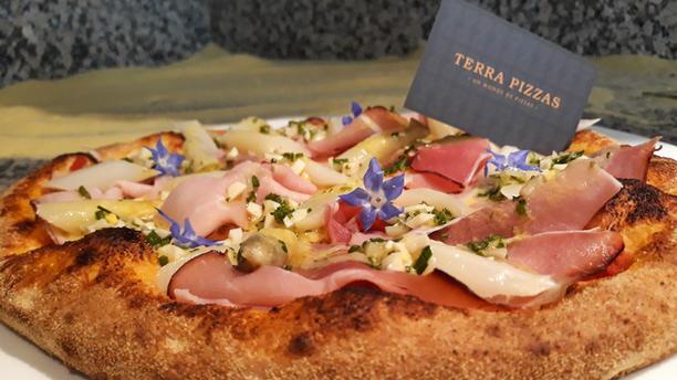 Terra Pizzas Asperges d'Alsace façon Terra Pizzas