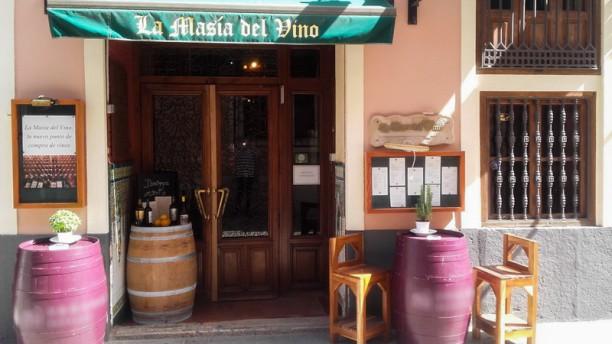 Masia del Vino Entrada