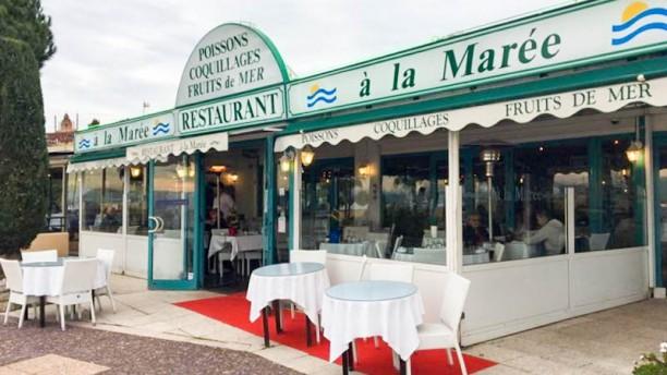 A La Marée Saint Laurent du Var Devanture
