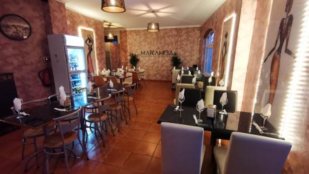 Makamba African Kitchen Vista da sala