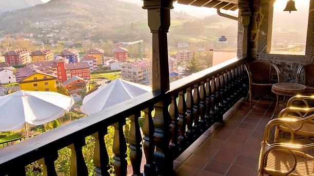 El Cenador de los Canónigos Vista desde la terraza