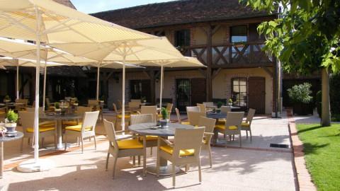 restaurant - Auberge du Cheval Blanc - La Ferté-Imbault