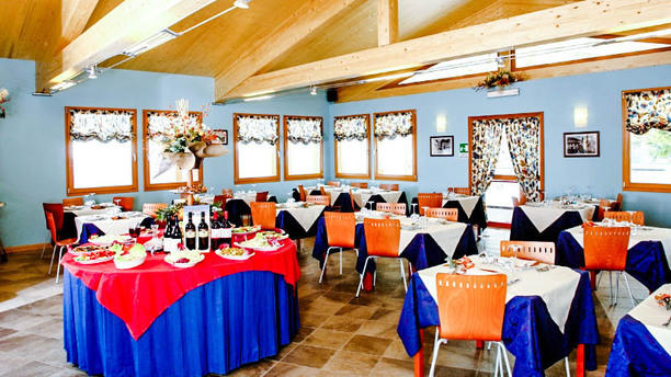 Chalet Sala ristorante