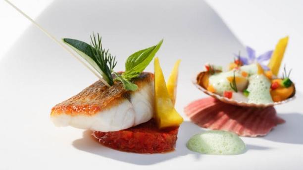 Restaurant restaurant gastronomique didier de courten for Cuisine gastronomique