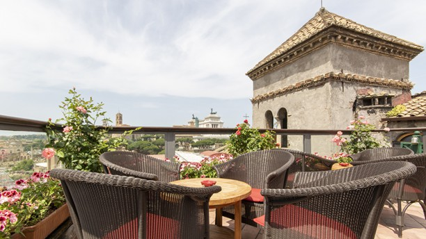 Roof Garden In Rome Restaurant Reviews Menu And Prices