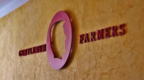 Gentlemen Farmers Détail de décoration