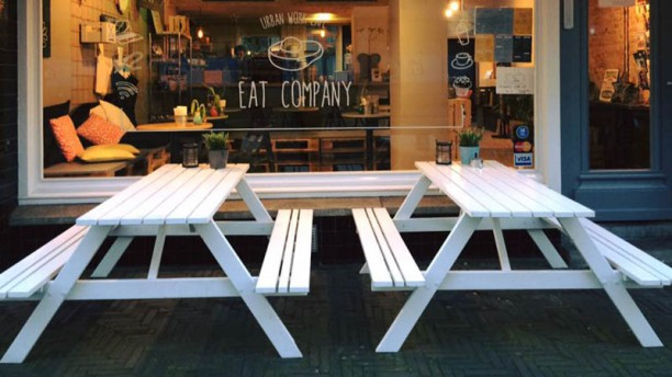 Eat Company - Urban Work Cafe Terras