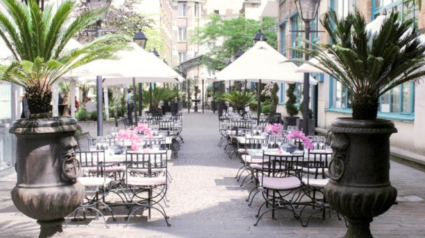 Restaurant les jardins du marais paris 75011 bastille for Le jardin restaurant saint paul