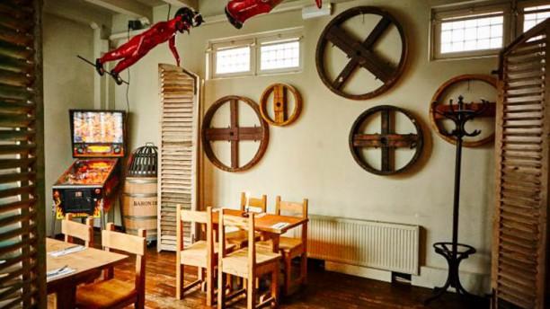Salmuera Amsterdam restaurantzaal